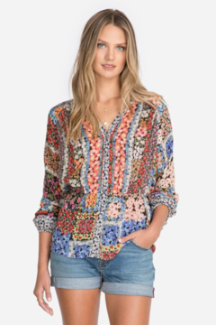 Johnny Was Fawn Button Up Blouse - Product List Image
