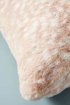 Anthropologie Fawn Faux Fur Pillow - Alternate List Image