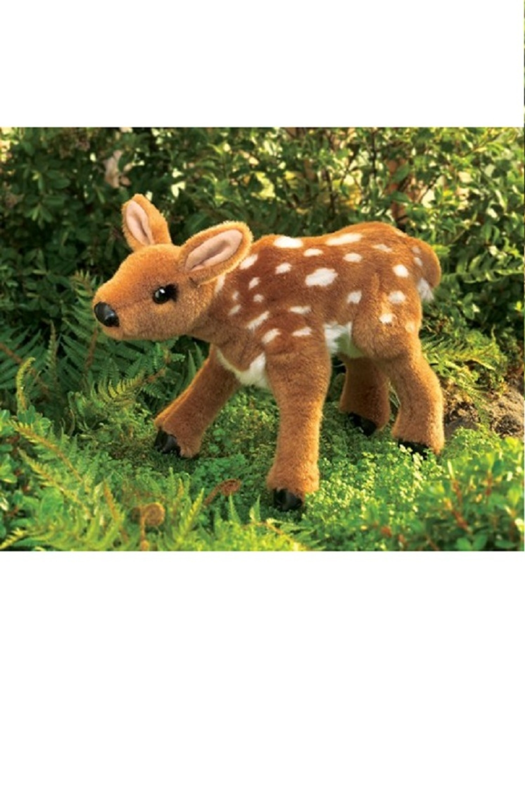 Folkmanis Fawn Hand Puppet - Front Full Image