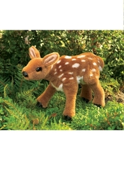 Folkmanis Fawn Hand Puppet - Front full body