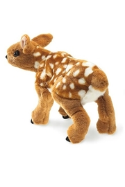 Folkmanis Fawn Hand Puppet - Side cropped
