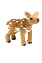Folkmanis Fawn Hand Puppet - Front cropped