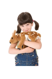 Folkmanis Fawn Hand Puppet - Back cropped