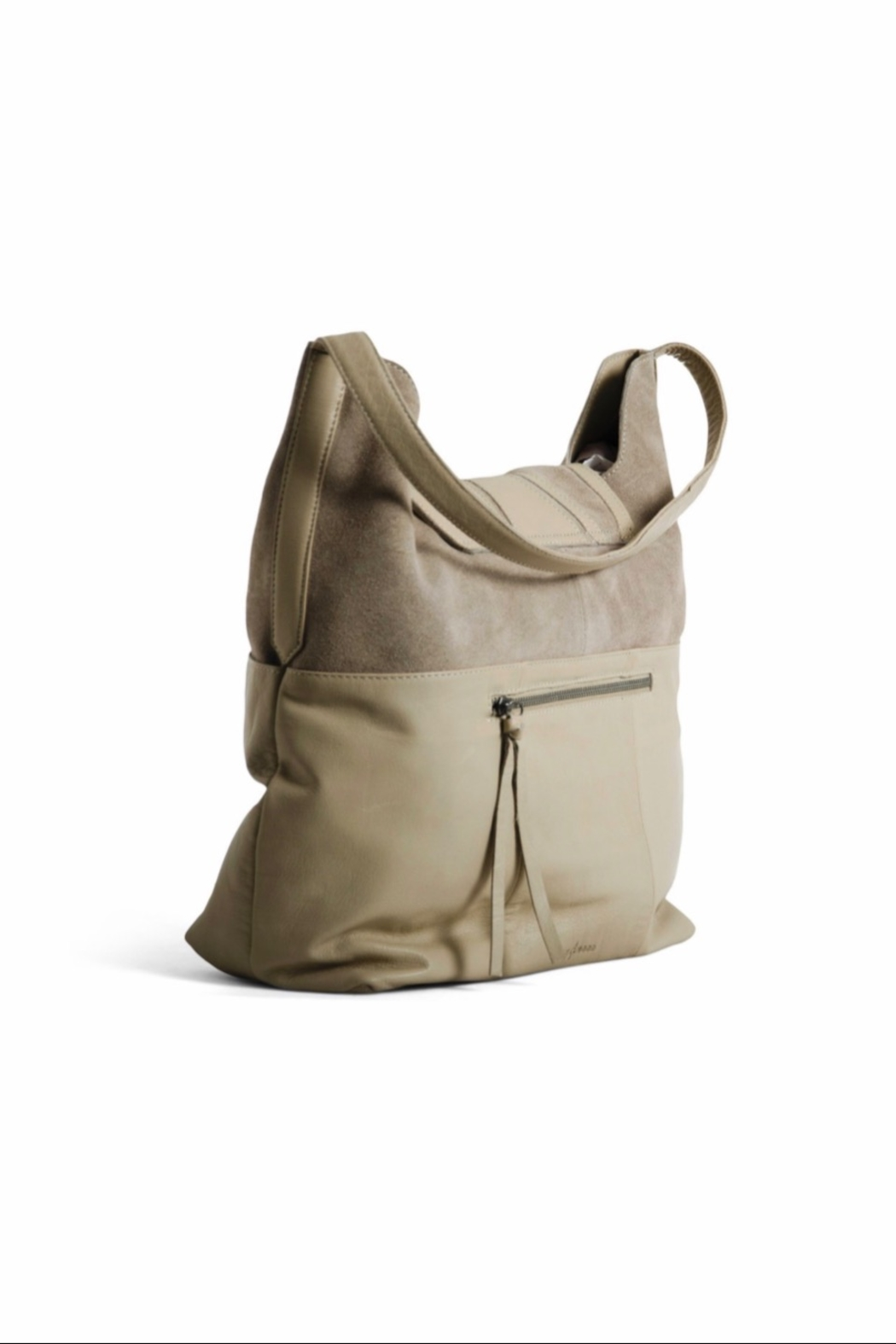 Day & Mood Fawn Hobo - Front Full Image
