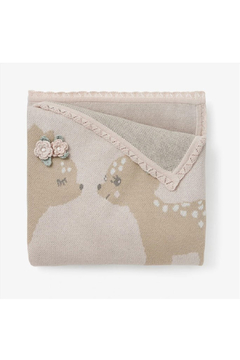 Elegant Baby Fawn Knit Baby Blanket - Product List Image
