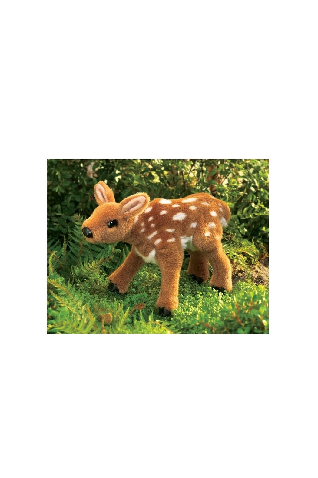 Folkmanis Fawn Puppet - Front Full Image