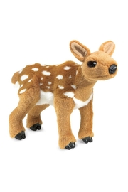 Folkmanis Fawn Puppet - Front cropped