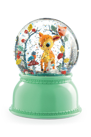 Djeco  Fawn Snow Globe Night Light - Front cropped