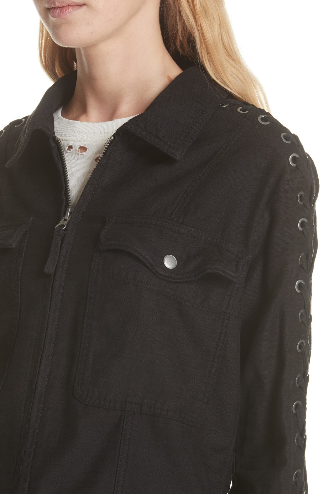 8f23a2c122 Free People Faye Military Jacket from Hudson Valley by Bfree ...