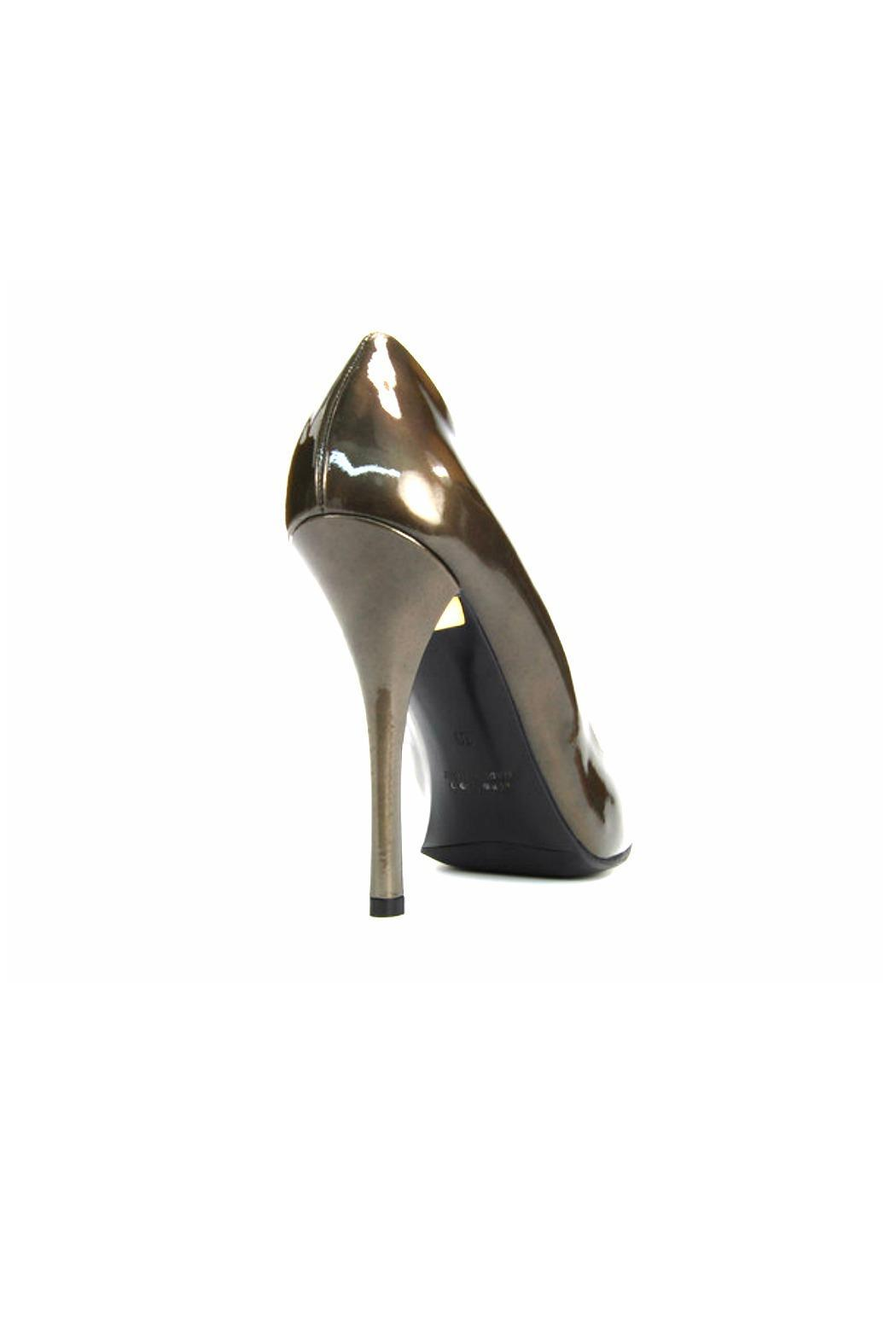 Baldan Patent Pointed Pump - Side Cropped Image