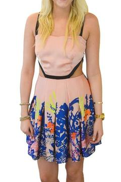 Sugarlips Floral Cutout Dress - Product List Image