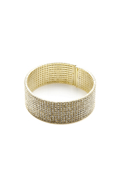 KTCollection Short Gold Cuff - Product Mini Image