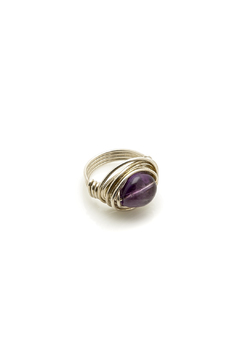 Shoptiques Product: Amethyst Sterling Ring