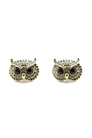 Jaqueline Kent Owl Earrings - Product Mini Image