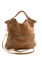 Shoptiques Product: Fall Leather Bag - Front cropped