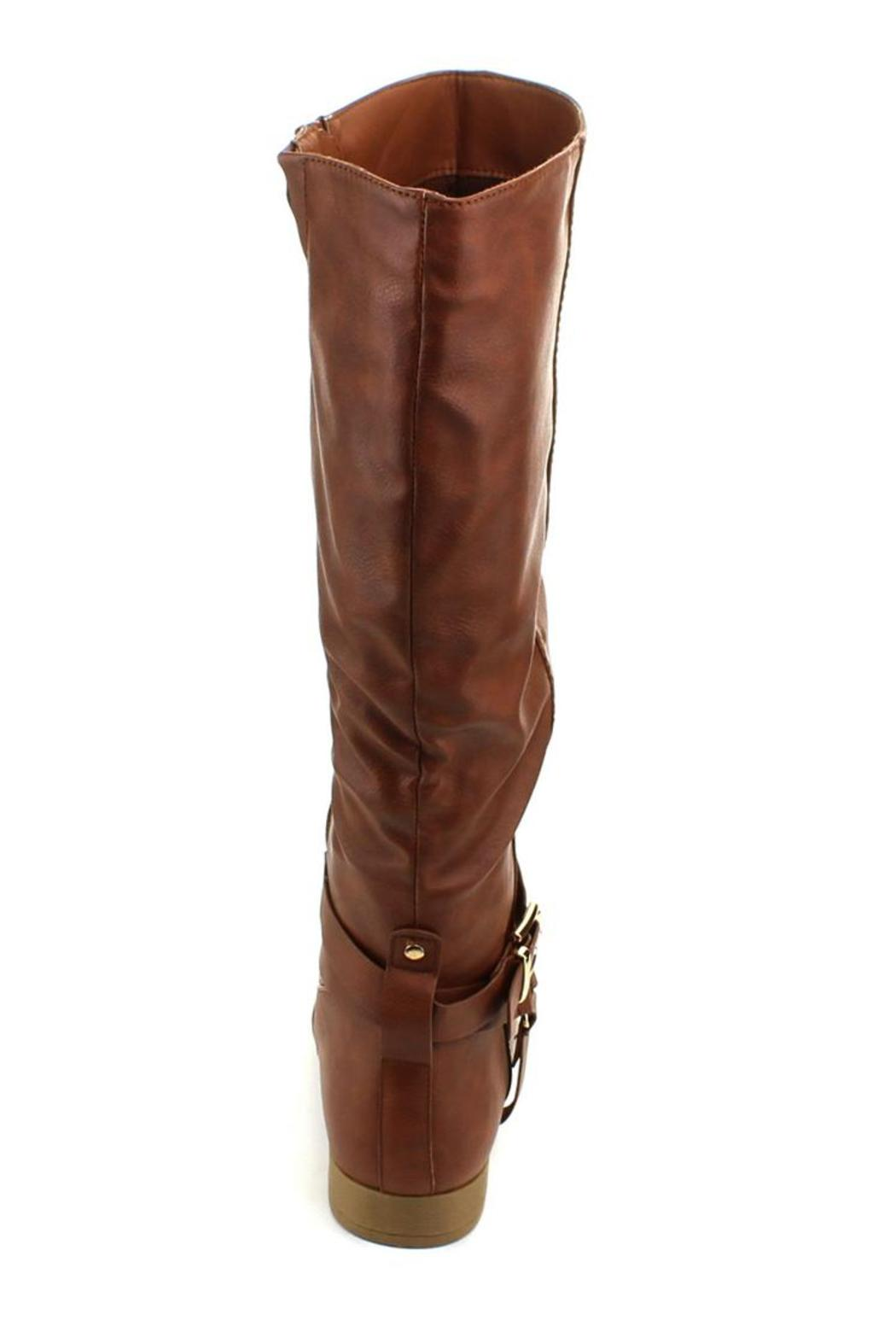 Top Moda Land Riding Boot - Back Cropped Image