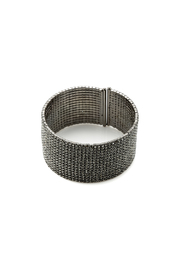 KTCollection Long Gunmetal Cuff - Product Mini Image