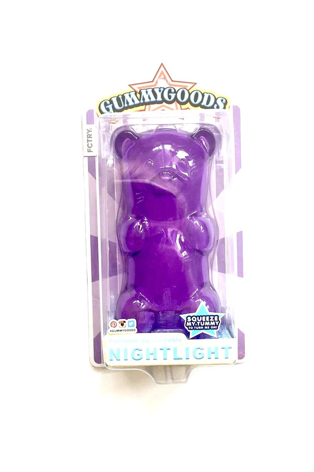 fctry gummy bear nightlight from texas by madre shoptiques
