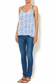 Chic Style Floral Resort Cami - Front full body