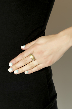 Shoptiques Product: Peridot Jasper Ring
