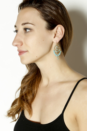 KTCollection Bohemian Summer Dangles - Back cropped