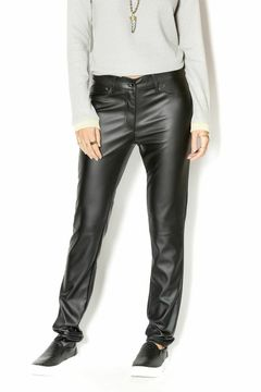 Uldahl Fitted Faux Leather Pant - Product List Image