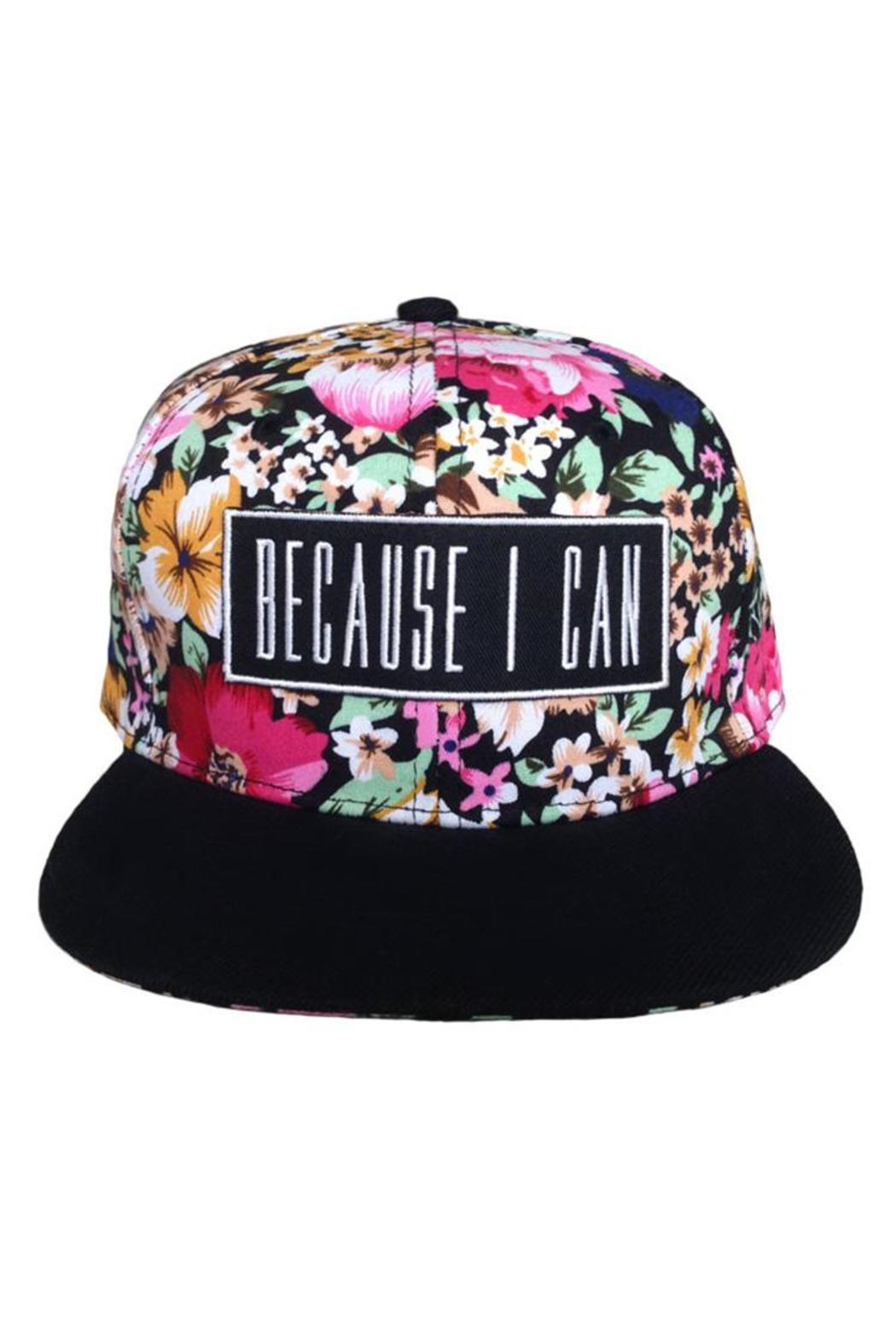 Millioneiress Hermosa Snapback - Front Cropped Image