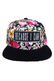 Millioneiress Hermosa Snapback - Front cropped