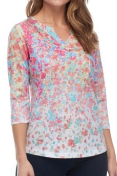 FDJ French Dressing Abstract Spot Top - Alternate List Image