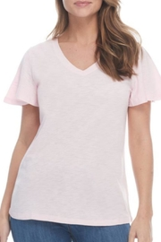 FDJ French Dressing Basic Pink Or Blue Tee - Product Mini Image