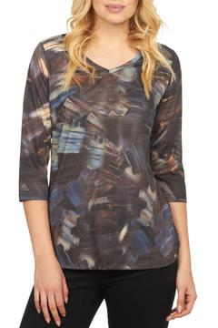 Shoptiques Product: Brushstroke Abstract Top