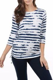 FDJ French Dressing Cloud Stripe Top - Product Mini Image