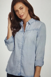 FDJ French Dressing Denim Shirt With Fringe - Product Mini Image