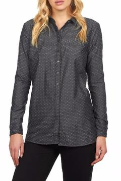 FDJ French Dressing Dot Denim Tunic - Product List Image