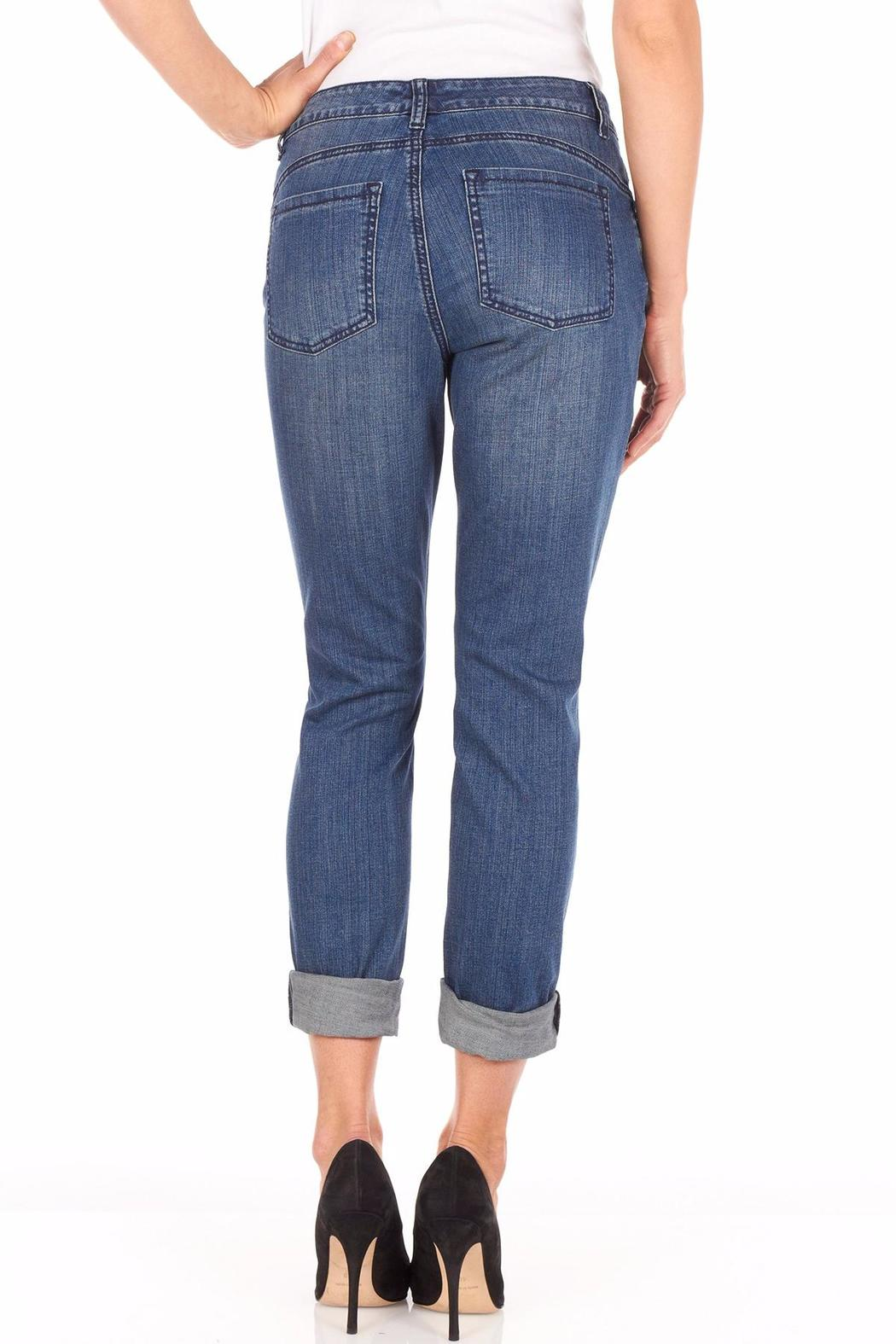 FDJ French Dressing Flannel Patchwork Jeans - Front Full Image
