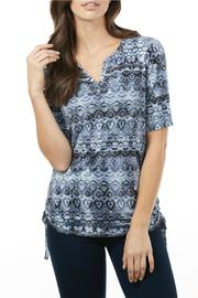 FDJ French Dressing Indigo Aztec Top - Product Mini Image