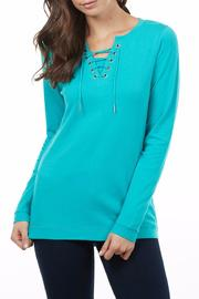 FDJ French Dressing Lace Up Top - Product Mini Image