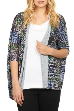 Shoptiques Product: Mosaic Cocoon Cardigan
