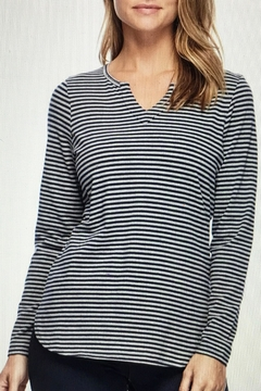 FDJ French Dressing Notched Neck Top - Alternate List Image