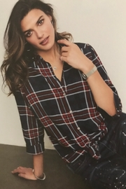 FDJ French Dressing Pretty Plaid Shirt - Product Mini Image
