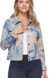 FDJ French Dressing Print Cropped Jacket - Product Mini Image