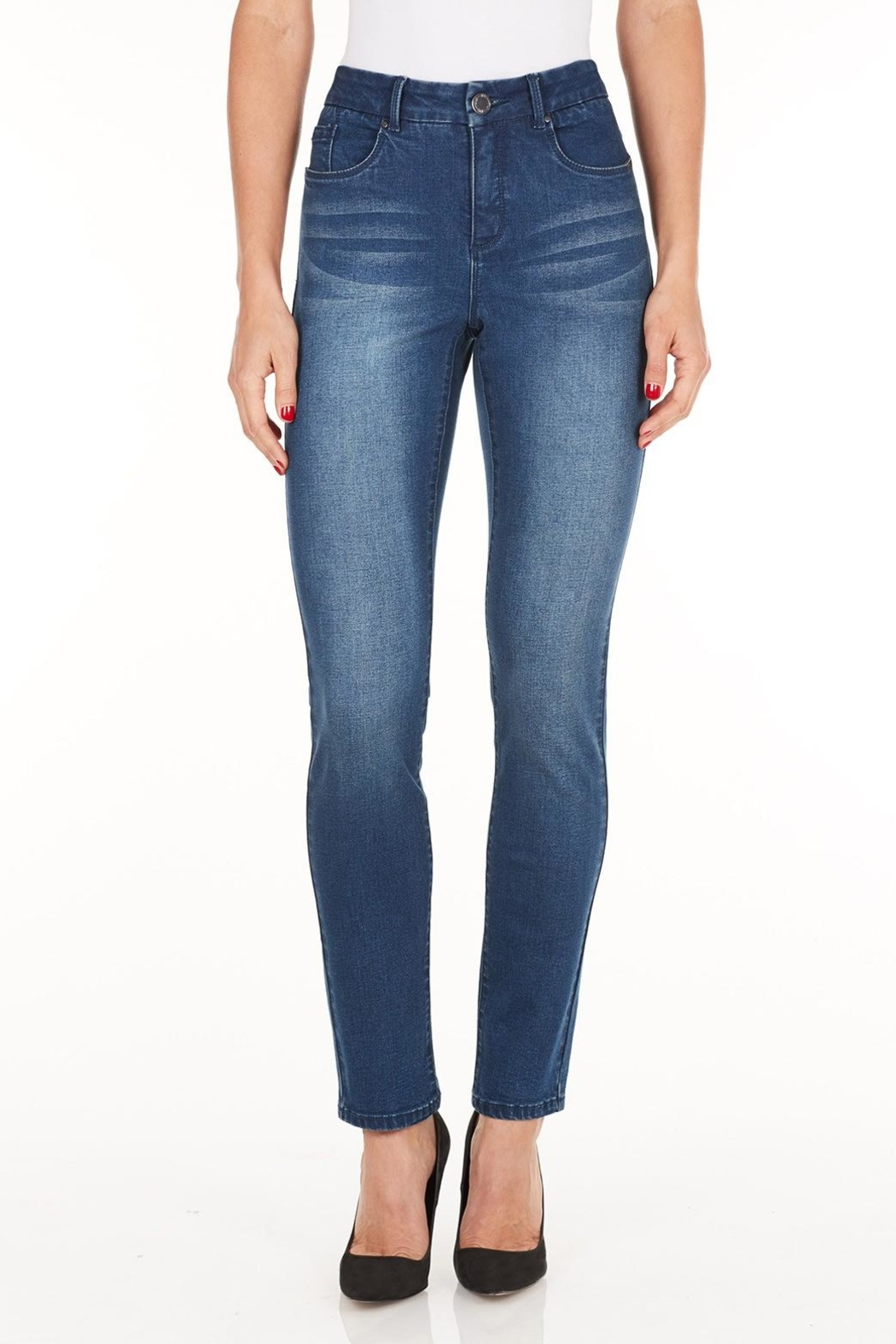 FDJ French Dressing Slim Blue Jeans - Main Image