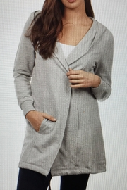 FDJ French Dressing Sophisticated Sweatshirt Jacket - Front cropped