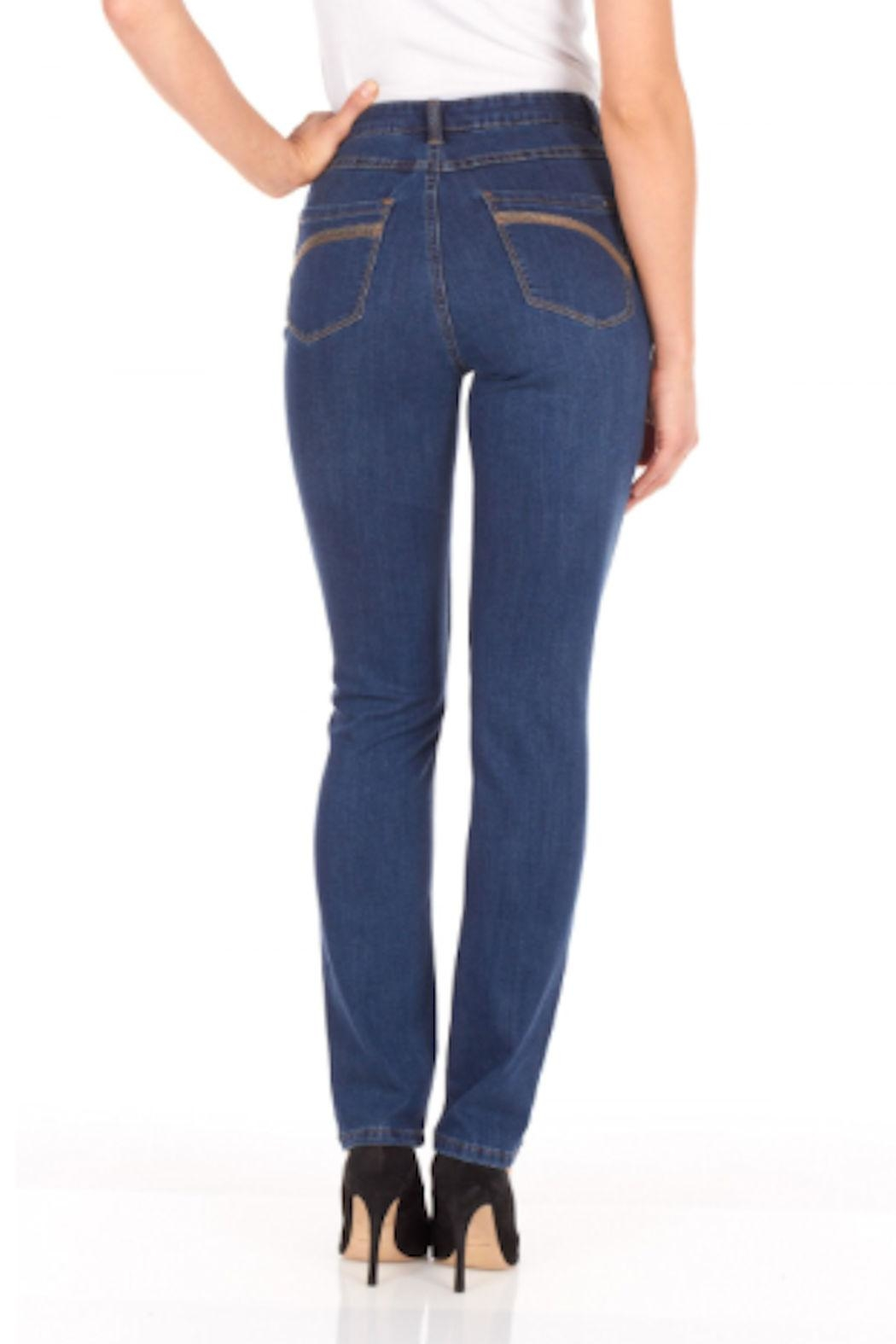 FDJ French Dressing Suzanne Slim Jean - Front Full Image