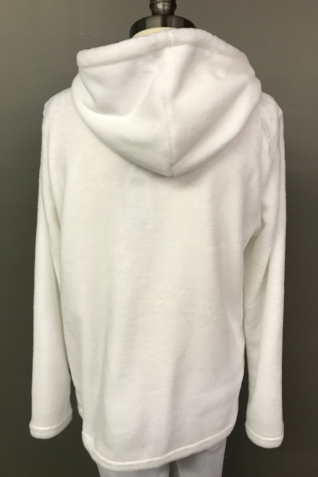FDJ French Dressing Teddy Bear Hoodie - Front Full Image