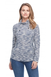 FDJ French Dressing Tweedy Funnel-Neck Top - Product Mini Image