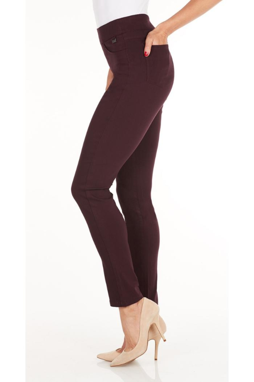 FDJ French Dressing Virginia Cabernet Pant - Front Full Image