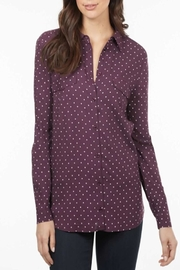 FDJ French Dressing Wine Polka-Dot Shirt - Front cropped