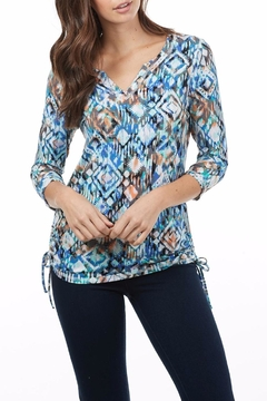 Shoptiques Product: Ikat Print Top