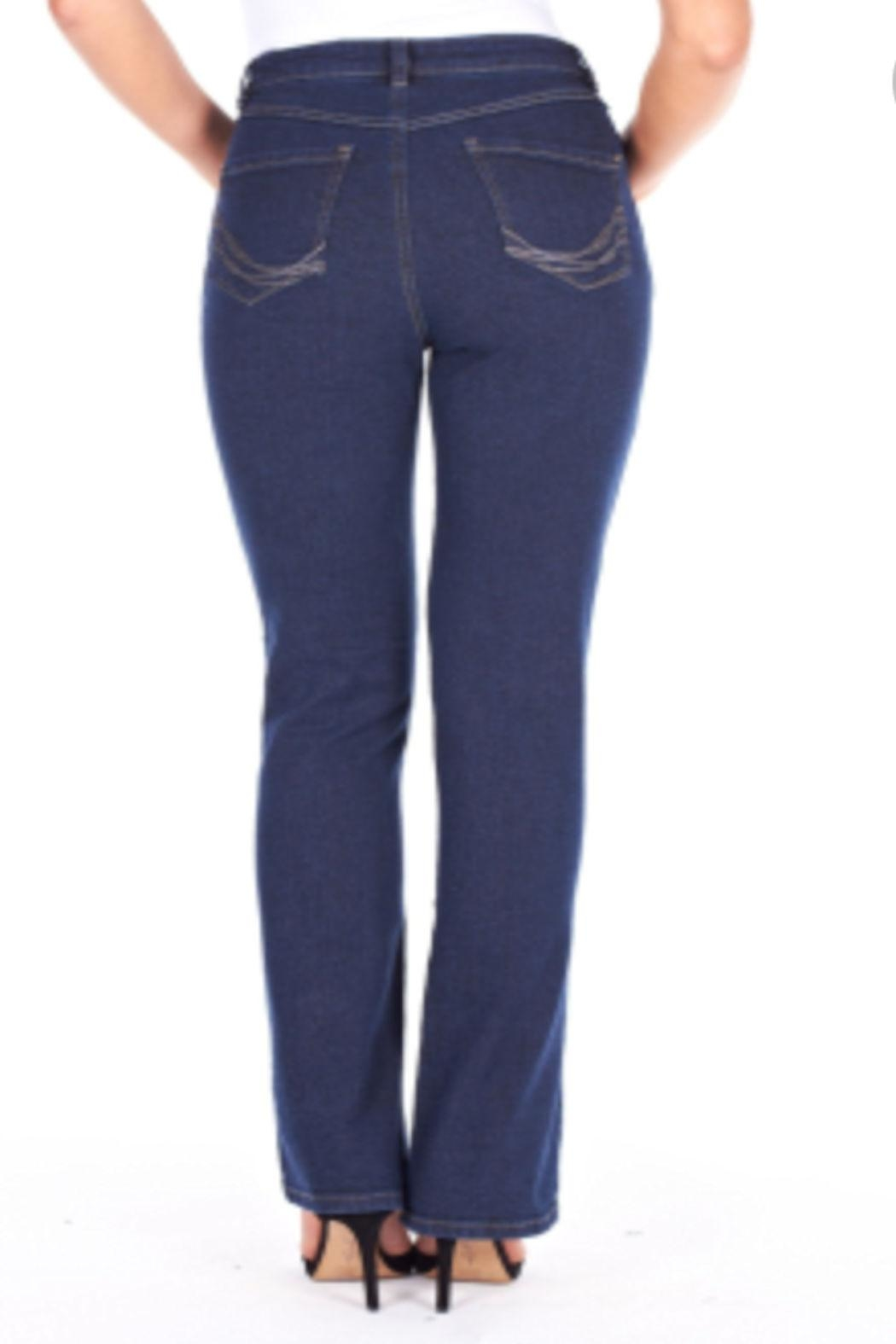FDJ Jeans  Peggy Bootcut Jean - Front Full Image